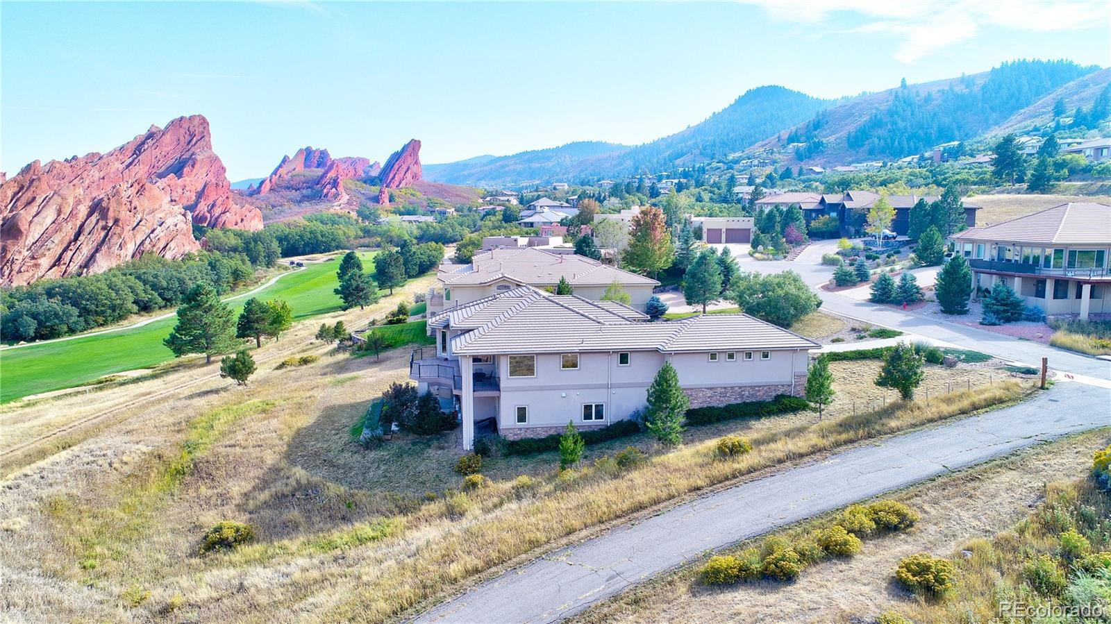 5840 Rain Dance Trail Littleton Co 80125 Roxborough Park Colorado Group Realty